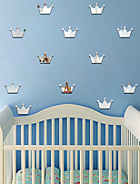 cheap -Still Life / Crown Shapes Wall Stickers Mirror Wall Stickers Decorative Wall Stickers, Acrylic Home Decoration Wall Decal Wall Decoration 15pcs
