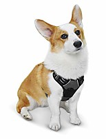 cheap -dog harness no pull reflective pet harness outdoor adjustable vest with quick release clasp easy control handle for small medium large dogs walking training