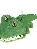 cheap -Aquarium Artificial Animal Ornament Artificial Bubble Crocodile Fish Tank Resin Landscaping Decor Waterscape Fish Tank Decor