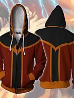 cheap -Inspired by Avatar: The Last Airbender Zuko Cosplay Costume Hoodie Terylene 3D Printing Hoodie For Men's / Women's