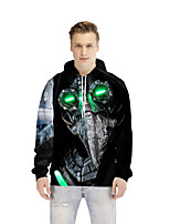 cheap -Inspired by Plague Doctor Plague Doctor Hoodie Polyster Animal Printing Hoodie For All