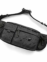 cheap -travel fanny pack for men,unisex water resistant workout waist bag pack with adjustable strap, small fashion fanny bag for women, fits iphone 8 samsung s6 for outdoor causal running hiking - black