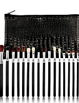 cheap -19 Pcs Makeup Brushes Set Eyeliner Smudge High Gloss Eye Shadow Brush Set Beauty Tool Wooden Handle Eye Shadow Brush