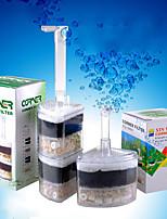 cheap -Reusable Tank Corner Aquarium Air Bubble Filter Under Water Air Driver Filter Internal Sponge Super Air Bubble  Filter