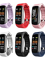 cheap -C6S Pedometer Smart Bracelet Heart Rate and Blood Pressure Monitoring Smart Reminder Sports Bracelet Waterproof