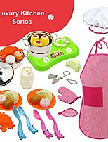 cheap -30pcs stainless steel mini kitchen toys kitchen pretend play accessories toys cooking utensils