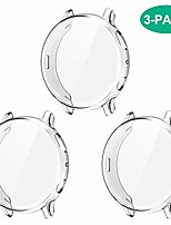 cheap -compatible with galaxy watch active 2 case 44mm, 3 pack full coverage soft tpu screen protector case anti-scratch protective cover for samsung galaxy active 2 44mm smartwatch