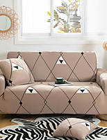 cheap -Lines Print 1-Piece Sofa Cover Couch Cover Furniture Protector Soft Stretch Slipcover Spandex Jacquard Fabric Super Fit for 1~4 Cushion Couch and L Shape Sofa,Easy to Install(1 Free Cushion Cover)