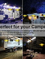 cheap -1 Pcs 3.5W 12V 24 LED Camper RV Exterior Interior Porch Utility Trailer Van Oval Light