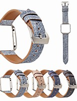 cheap -Watch Band for Fitbit Blaze Fitbit Classic Buckle Genuine Leather Wrist Strap