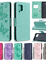 cheap -Case For Samsung Galaxy S20 / S20 Plus / Galaxy Note 20 Wallet / Shockproof / Flip Full Body Cases Solid Colored PU Leather