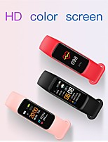 cheap -Heart Rate Bracelet Silicone with Oximeter Step Counter Sleep Monitoring Message Reminding Smart Bracelet