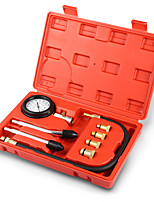 cheap -Rapid Type Pressure Gauge Tester Kit Motor Auto Petrol Gas Engine Cylinder Compression Gauge Tester Tool Car Diagnostic Tool