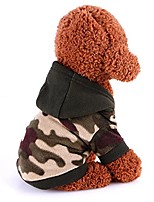 cheap -pet clothes, dogs polar fleece camouflage hoodie warm sweater dog coat apparel (camouflage, xl)