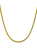 """cheap -925 sterling silver italian magic snake chain necklace - 16""""-30"""" (1.2mm, 24"""", yellow)"""