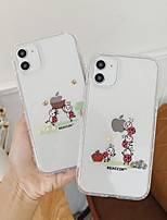 cheap -Case For iPhone 11 / iPhone 11 Pro / iPhone 11 Pro Max Shockproof Back Cover Cartoon TPU