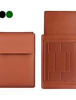 cheap -11.6 Inch Laptop / 12 Inch Laptop / 13.3 Inch Laptop/14 Inch Laptop /15 Inch LaptopSleeve PU Leather / Polyurethane Leather Solid Color Unisex Shock Proof