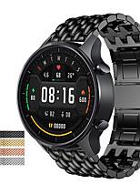 cheap -Watch Band for Fenix Chronos / Garmin Vivoactive 4 Garmin Business Band Stainless Steel Wrist Strap