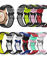 cheap -Watch Band for Samsung Galaxy Active / Samsung Galaxy Watch Active 2 / Samsung Galaxy Watch 3 45mm Samsung Galaxy Sport Band Silicone Wrist Strap