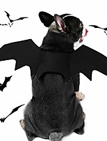 cheap -dog costume halloween pet bat wings cosplay apparel for small to large sized dogs party decoration,large