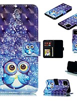 cheap -Case For Apple iPhone 12 Pro Max  Wallet Card Holder with Stand Full Body Cases Animal PU Leather iPhone 12 Mini SE 2020 11 Pro XR XS Max X 7 8 Plus
