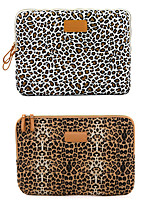 cheap -11.6 Inch Laptop / 12 Inch Laptop / 13.3 Inch Laptop Sleeve / Tablet Cases Canvas Leopard / Cheetah Print for Men for Women for Business Office Waterpoof Shock Proof