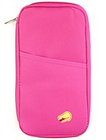 cheap -passport and travel documents holder, hot pink
