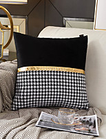 cheap -Houndstooth Style Fashion Pillow Case cover Sofa Cushion Cover Living Room Bedroom Sofa Pillow Case Cover