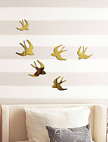 cheap -Swallow / Animal Wall Stickers Mirror Wall Stickers Decorative Wall Stickers, Acrylic Home Decoration Wall Decal Wall Decoration 1pc