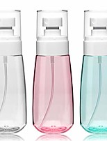 cheap -mist spray bottle 3.4oz/100ml 3 pack empty clear travel containers cosmetic refillable plastic hair spray bottle water mist sprayer for perfume skincare makeup lotion