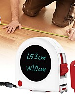 cheap -Multifunctional Portable High Accuracy Retractable 5 Meters Tape Measure with LCD Writing Board