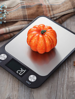 cheap -Flat Stainless Steel Kitchen Scale Small Mini Electronic Platform Scale Food Food Baking Gram Scale