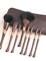 cheap -New Baseball Girl Loose Brush Wood Grain and Bamboo Grain 8 Pieces Set Brush Makeup Brush Beauty Tool Foundation Brush Eyeshadow Brush