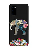 cheap -Case For Samsung Galaxy S20 FE Frosted Pattern Back Cover Animal TPU Soft Galaxy S20 Plus Note 20 Ultra Note 10 Plus A11 A21S A31 A41 A51 A71 A81 A91