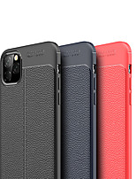 cheap -Case For iPhone 11Shockproof Back Cover Lines / Waves / Solid Colored TPU For 11 Pro Max/6 6S 7 8 Plus/XS Max/XR/XS