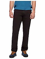 cheap -men's stretch font pants - espresso - 31