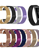 cheap -Watch Band for Fitbit charge3 / Fitbit Charge 4 Fitbit Milanese Loop Stainless Steel Wrist Strap