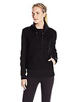 cheap -women's rift long-sleeve pullover top, black, medium