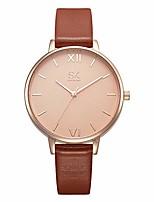 cheap -womens watches leather strap waterproof simple stylish designer quartz wristwatch for women