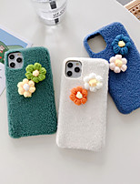 cheap -Case For iPhone 11 Shockproof Back Cover Flower TPU For Case 7/8/7P/8P/X/XS/XS MAX/SE 2020/11 PRO/11PRO MAX