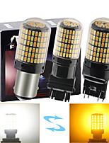 cheap -2pcs Car Light Bulbs 35 W SMD 3014 168 LED Brake Lights For universal