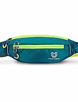 cheap -small waterproof slim waist bag pack fanny bag pack with phone pocket for running hiking biking cycling running pouch for men women (adeep green)