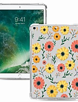 cheap -Case For Apple iPad Pro 11 2020 Shockproof Transparent Pattern Back Cover Flower TPU iPad 10.2 Pro 10.5 2019 Air 9.7 ipad 234 mini 12345 7.9