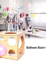 cheap -Balloon Sizer Box Balloon Measurement tool for Balloon Arch Kit for Birthday Party Wedding Party Event Decorations