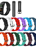 cheap -Watch Band for Huawei B3 / Huawei Band B6 Huawei Sport Band / Classic Buckle / Modern Buckle Silicone Wrist Strap