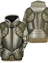 cheap -Inspired by Cosplay Cosplay Costume Hoodie Terylene Print Printing Hoodie For Men's / Women's