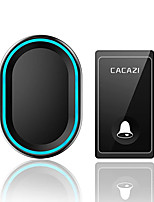 cheap -CACAZI Self-powered Wireless Doorbell No Battery Smart Home Wireless Chime Doorbell Timbre Inteligente Ringbell
