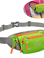 cheap -fanny pack waist bag with water bottle holder multifunctional bum bag running belt bag pouch for hiking running cycling camping climbing travel (green)