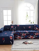 cheap -British Flag Print 1-Piece Sofa Cover Couch Cover Furniture Protector Soft Stretch Sofa Slipcover Spandex Jacquard Fabric Super Fit for 1~4 Cushion Couch and L Shape Sofa,Easy to Install