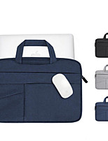 cheap -11.6 Inch Laptop / 12 Inch Laptop / 13.3 Inch Laptop Sleeve / Briefcase Handbags / Tablet Cases Polyester Textured / Plain for Men for Women for Business Office Waterpoof Shock Proof